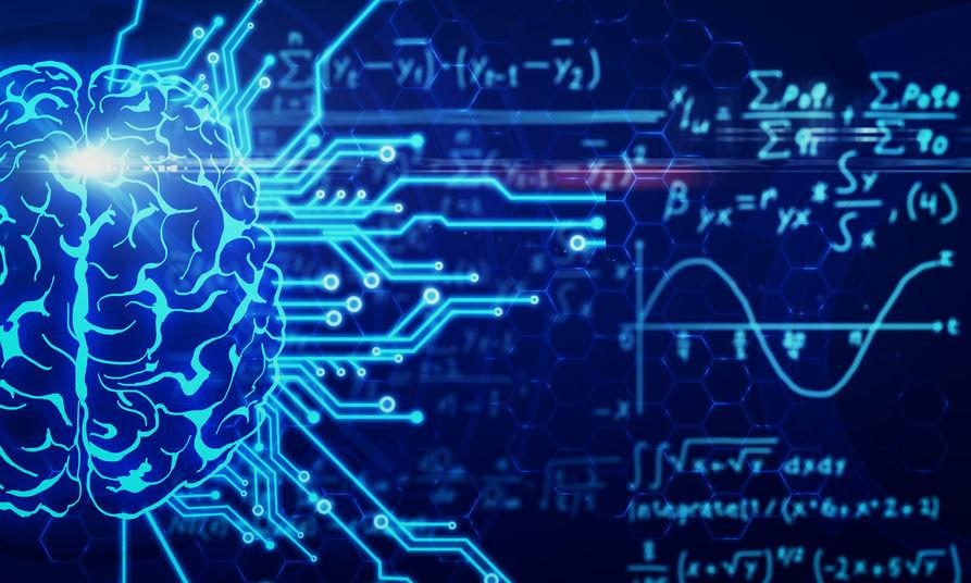 AI and math concept